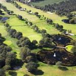 Vista aérea del Hércules Club de Golf