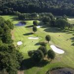 Vista aérea del Club de Golf de Lugo