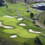 Vista aérea del Club de Golf de Miño
