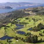 Vista aérea del Club de Golf Ría de Vigo