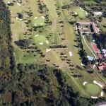 Vista aérea del Club de Golf Val de Rois