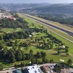 Vista aérea del Real Aeroclub de Vigo