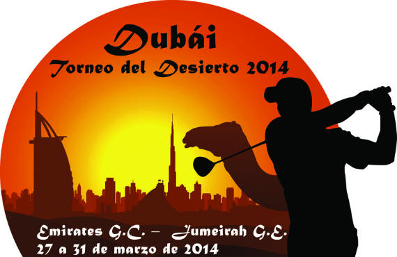 Logotipo del Dubái Torneo del Desierto 2014
