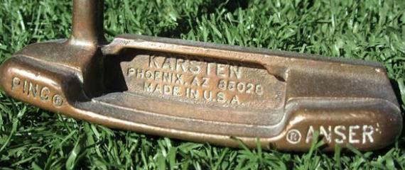 Ping Anser, el putter con más victorias profesionales de la historia del golf