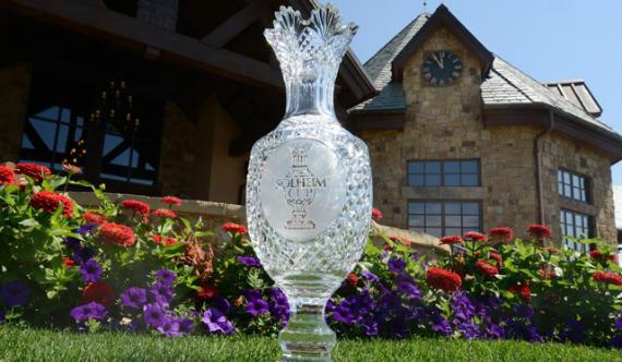 El bonito trofeo de la Solheim Cup