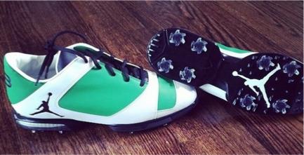 Zapatos de Michael Jordan diseñados para el Masters