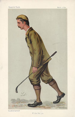 Caricatura de Ball en Vanity Fair (1892)