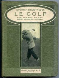 Portada de Le Golf, de Arnaud Massy