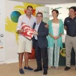 Manuel Lozano, campeón del torneo de invitados (foto de Luis Corralo)