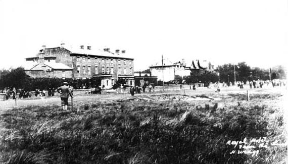 Vista del Royal Hotel de Hoylake