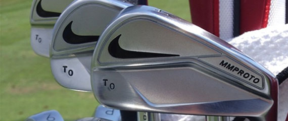 Los hierros Nike MM Proto de Thorbjorn Olesen