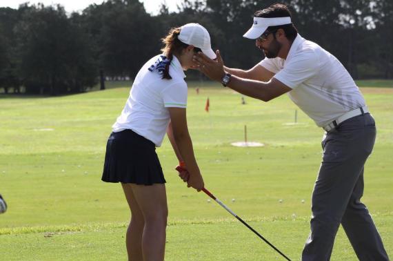 Instrucción en Crónica Golf