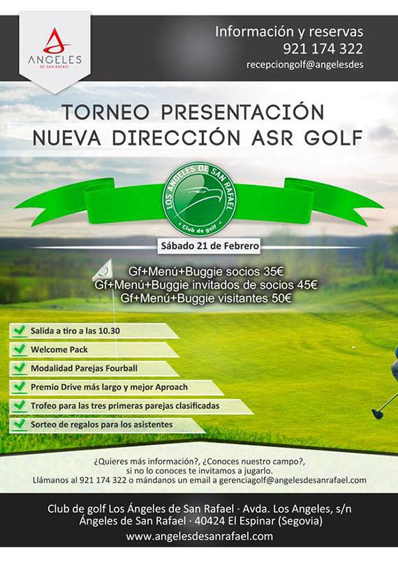 Torneo presentación nueva dirección ASR Golf