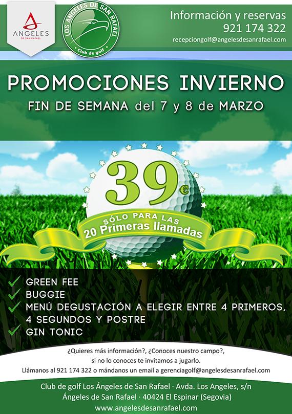 Oferta fin de semana ASR Golf Club