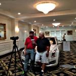 Michael Collins entrevista a Patrick Reed en el Cadillac Championship