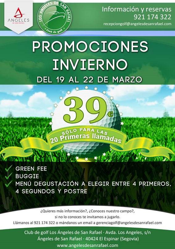 Oferta de ASR Golf Club del 19 al 22 de marzo