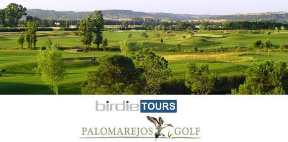 Cabecera del Torneo Birdie Tours en Palomarejos Golf