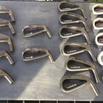 Cabezas de diferentes modelos de hierros Inesis