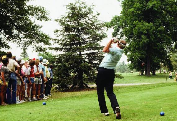 Lon Hinkle desafió a la USGA con una nueva ruta en el US Open de 1979