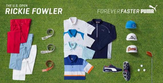 Rickie Fowler scripting US Open 2015
