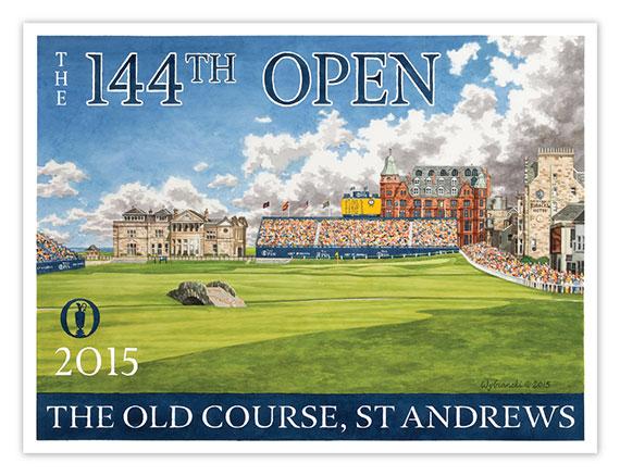 El cartel del Open de Lee Wybranski