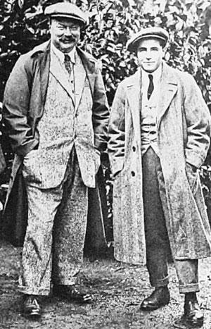 Arnaud Massy y De la Torre, en el Open de 1920
