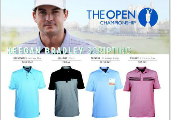 The Open Championship 2015 Keegan Bradley Scripting