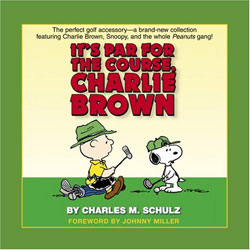 Portada de It's par for the course, Charlie Brown